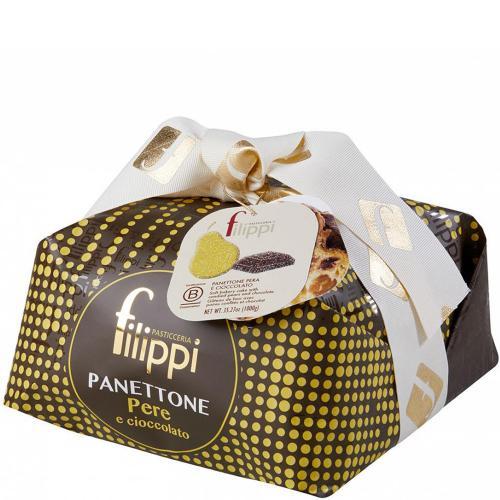 Panettone Pera e Cioccolato Pasticceria Filippi 1 Kg