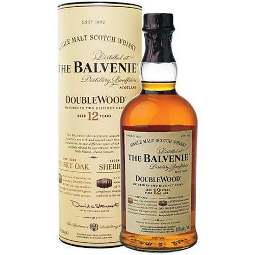 Whisky Single Malt 12 Years Doublewood The Balvenie 70 Cl in Astuccio