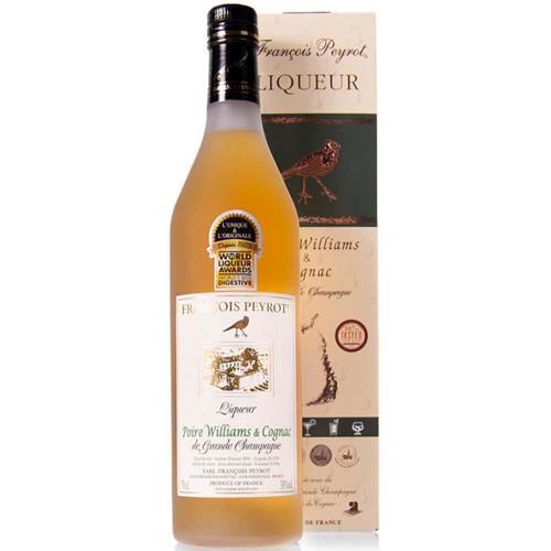 Liqueur au Cognac Poire Peyrot 70 Cl in Astuccio