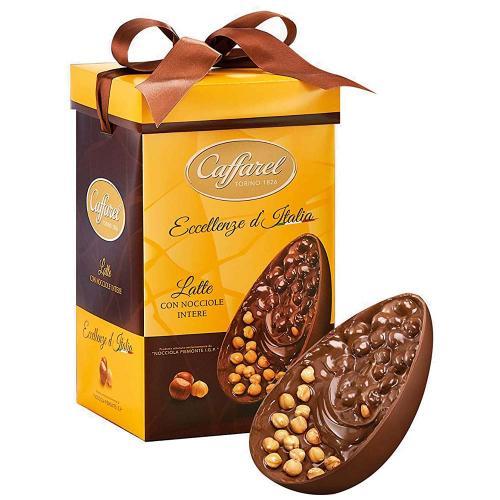 Uovo di Cioccolato al Latte con Nocciole Intere Caffarel 530 Gr