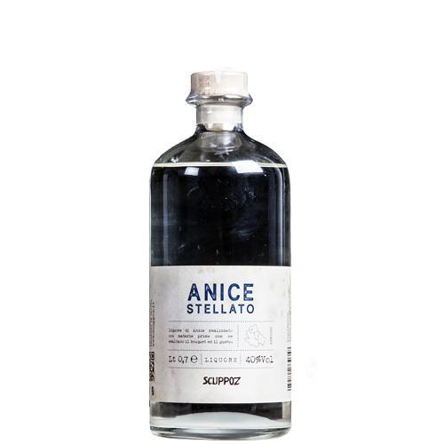 Liquore all'Anice Stellato Scuppoz 70 Cl