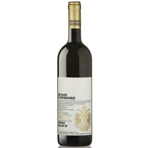 Collio Pinot Bianco Russiz Superiore 2010 Magnum in Cassa Legno